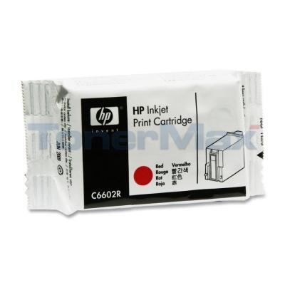 HP TIJ 1.0 THERMAL INKJET RED